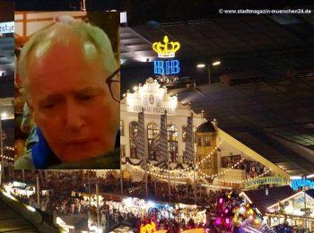Fahndung nach Maßkrugschläger im Hofbräu-Festzelt Fahndungsfoto Polizei München