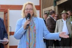 Yvonne Heckl, Oktoberfest Presserundgang über die Theresienwiese in München  2019