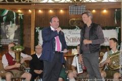 Jürgen Kirner und Peter Reichert (re.), Oktoberfest Presserundgang über die Theresienwiese in München  2019