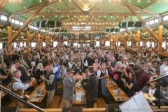 Der 12. Tag im Volkssängerzelt zur Schönheitskönigin auf der Oidn Wiesn in München 2019