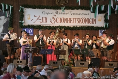 Riederinger Musikanten, Schönheitskönigin 13. Tag auf der Oidn Wiesn am Oktoberfest in München 2018