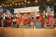 Tanngrindler Musikanten, Schönheitskönigin 8. Tag auf der Oidn Wiesn am Oktoberfest in München 2018