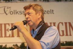Peter Reichert, Schönheitskönigin 8. Tag auf der Oidn Wiesn am Oktoberfest in München 2018