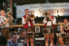 Südtiroler Tanzlmusig,  Der 8. Tag im Volkssängerzelt zur Schönheitskönigin auf der Oidn Wiesn in München 2019