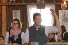 Gerdi und Peter Reichert, Schönheitskönigin 9. Tag auf der Oidn Wiesn am Oktoberfest in München 2018