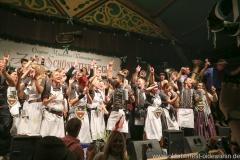 Finale in der Schönheitskönigin auf der Oidn Wiesn am Oktoberfest in München 2018
