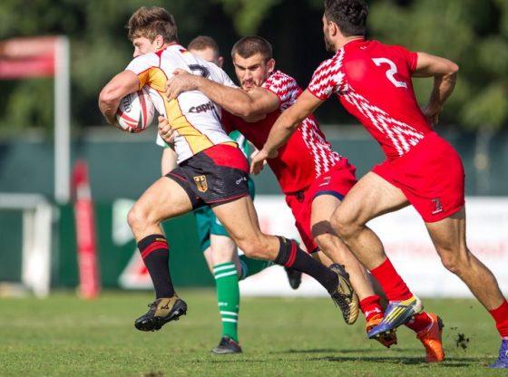 Rugby Spektakel 2017 im Olympiastadion in München Quelle Foto Deutscher Rugby Verband