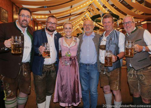 70 Jahre Damische Ritter im Löwenbräuzelt